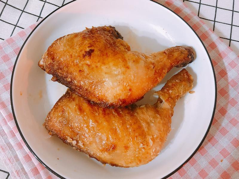 氣炸鍋料理-古早味炸雞腿
