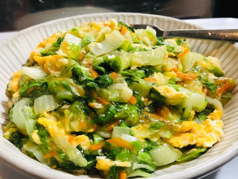 蔬菜雞蛋煎