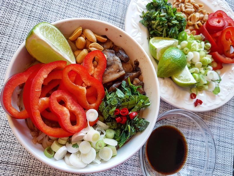 越南河粉素食歐風版vs.波特菇