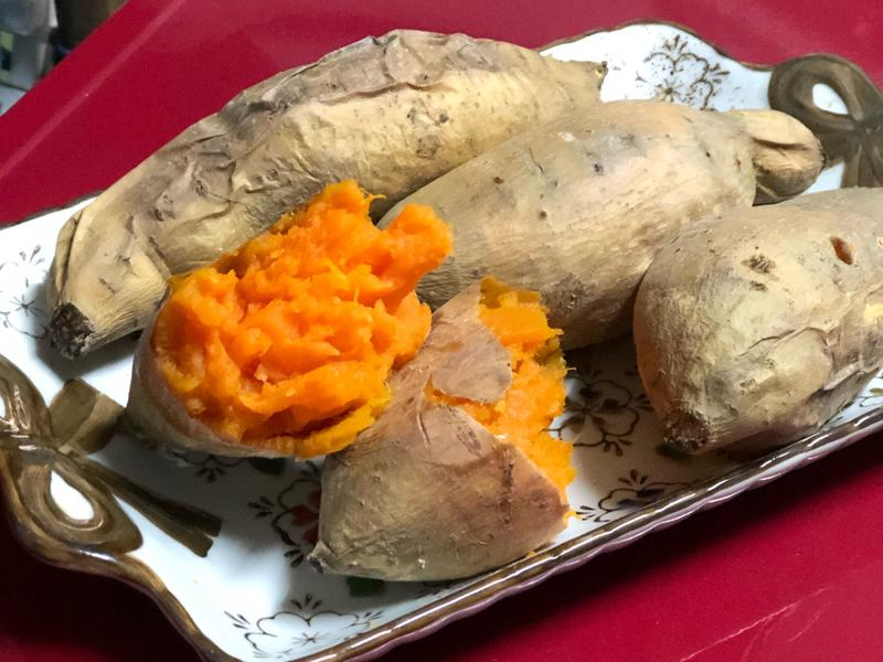 烤地瓜/烤蕃薯-鬆軟綿密的烤箱料理
