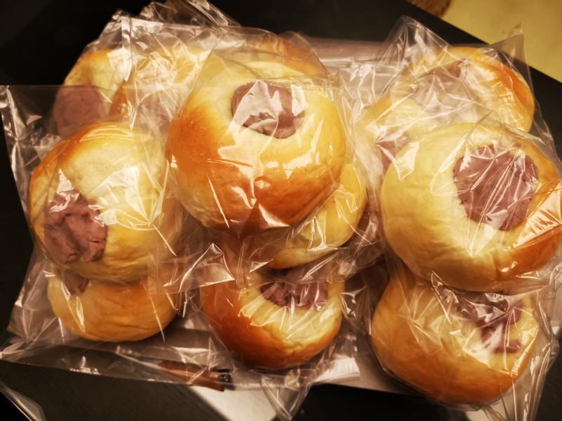 芋頭麵包~外觀失敗版