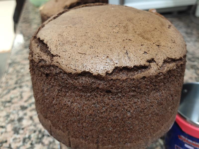 引用小高姐的食譜 巧克力戚風蛋糕