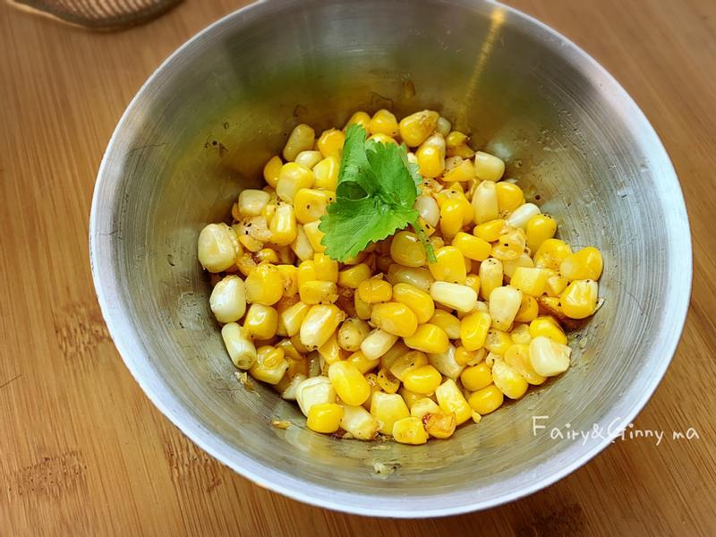 零技巧又快速的奶油鮮玉米粒(便當菜)