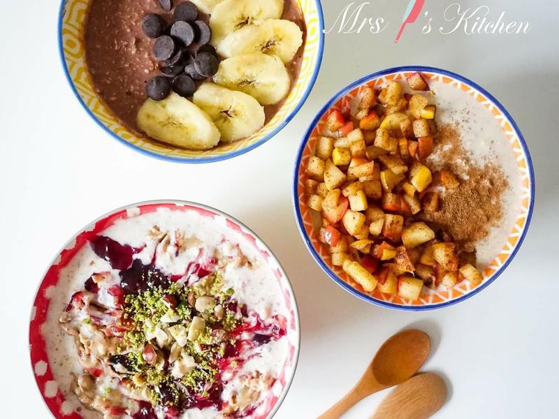 健康減肥隔夜燕麥 (3款口味)