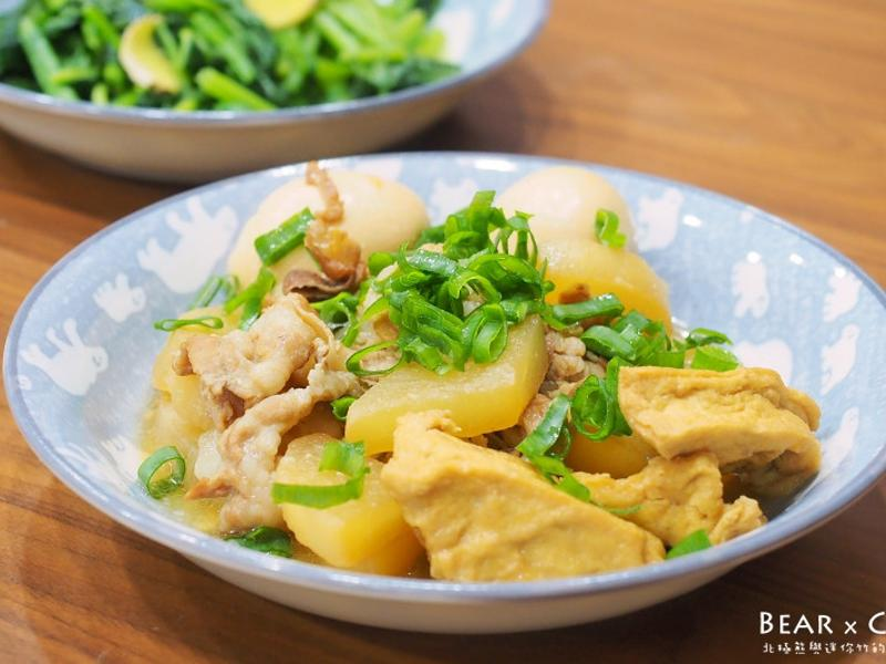 日式蘿蔔燉豬五花