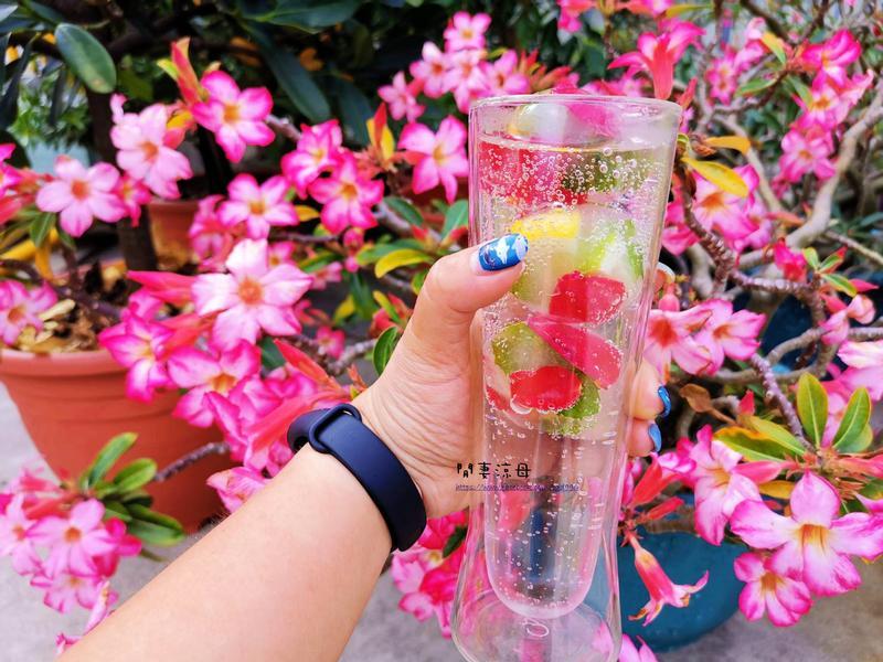 玫瑰檸檬薄荷冰塊