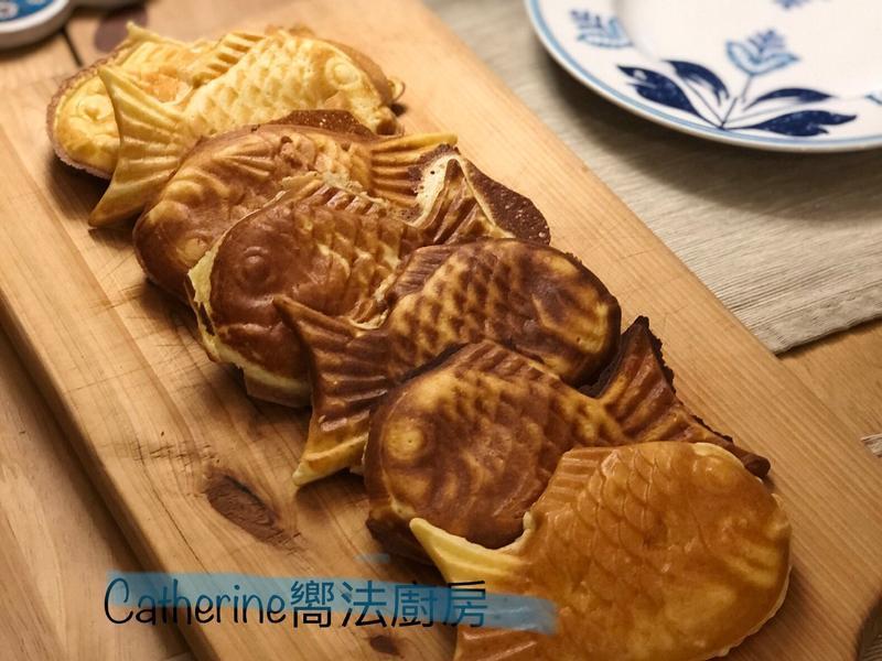 卡士達鯛魚燒~無泡打粉