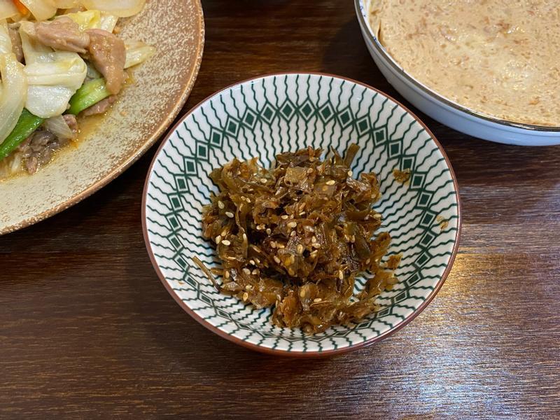 日式小菜《昆布柴魚佃煮》飯糰配料
