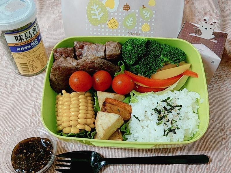 牛肉蔬食餐盒