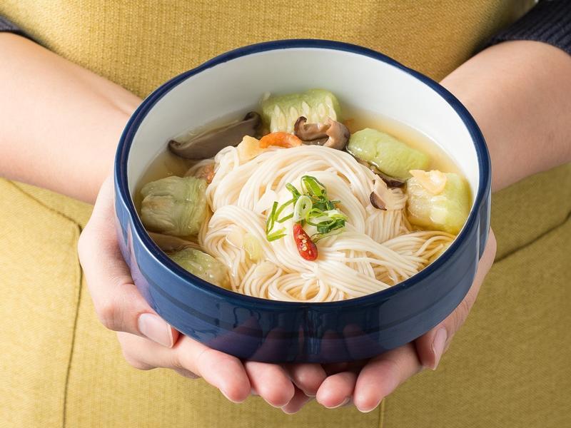 絲瓜麵線滴雞精 - 仙姑第2道菜