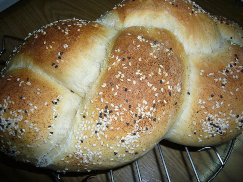 洋蔥火腿起司麵包