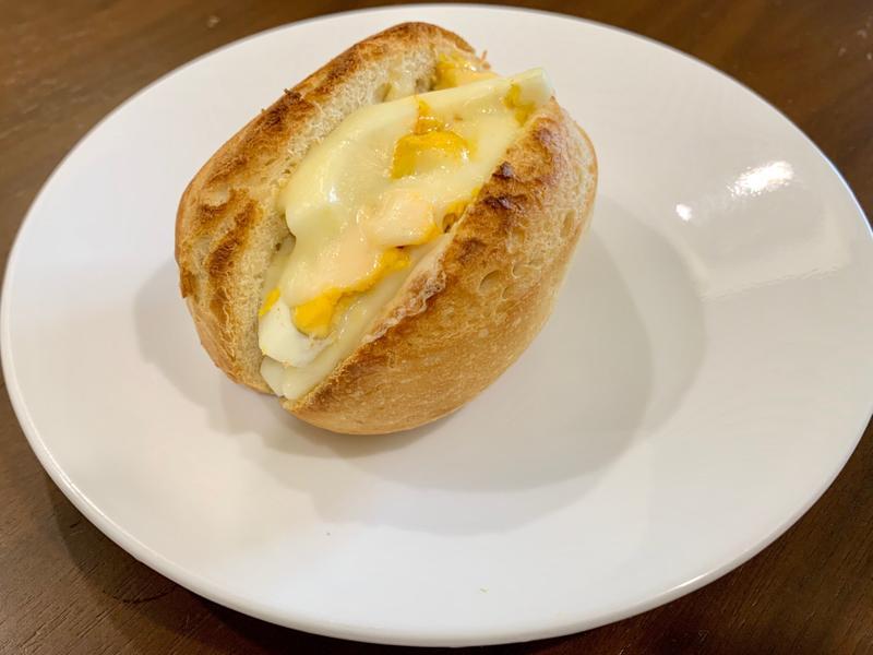 好市多-氣炸-半熟麵包(起司水煮蛋)