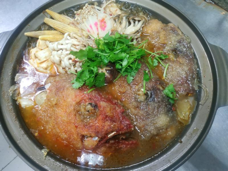 砂鍋魚頭火鍋