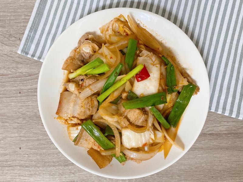 [韓式料理]泡菜炒豬肉