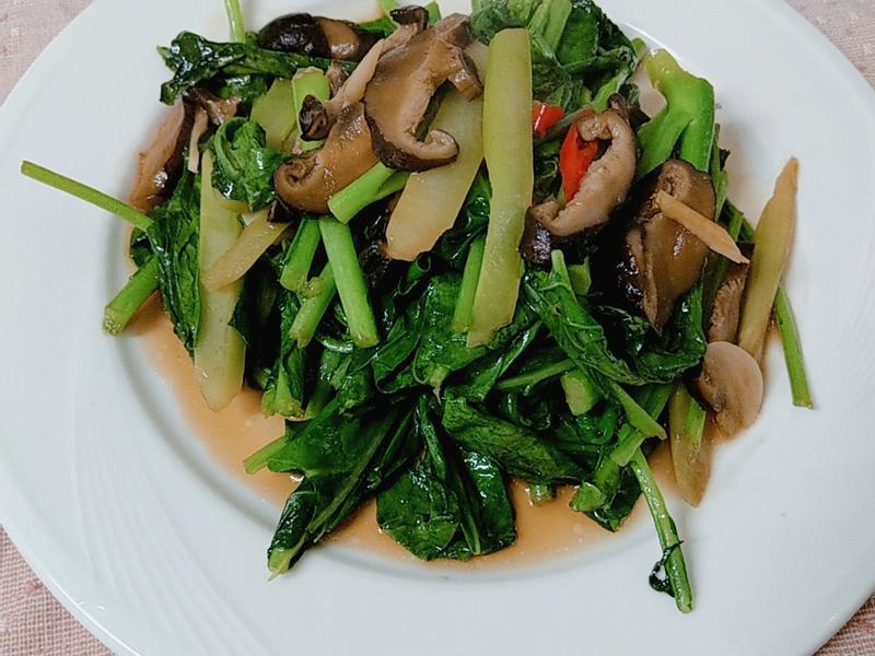 香菇蠔油芥藍