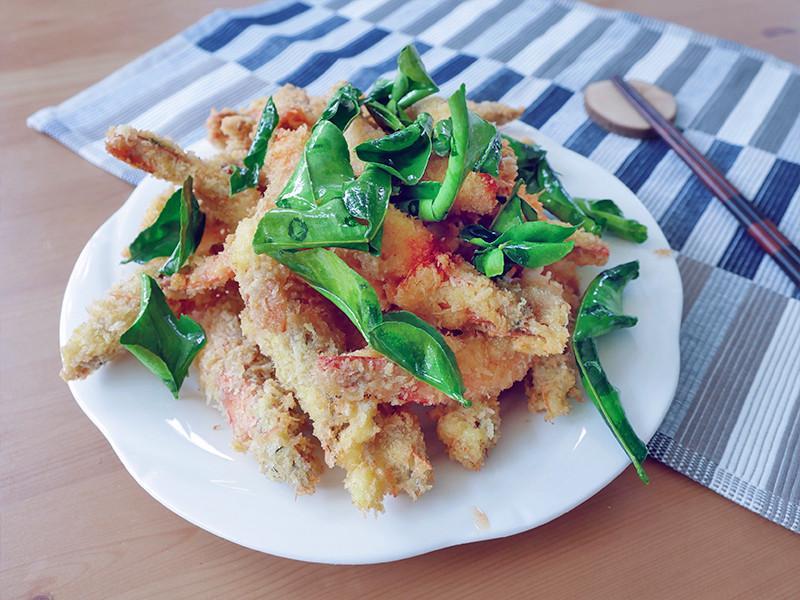 雲南酥炸香料蝦