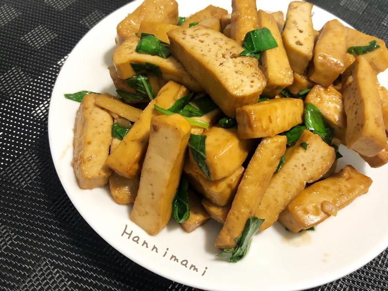[減醣]塔香炒豆乾