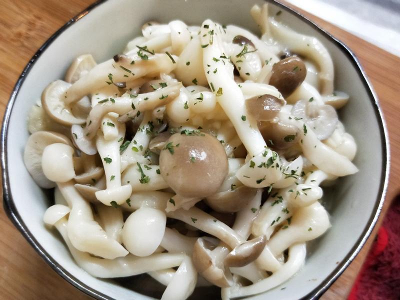 蒜味雙色菇