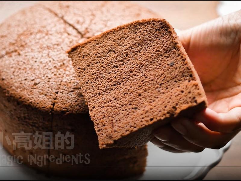 [小高姐巧克力戚風] 6吋材料(非教學)