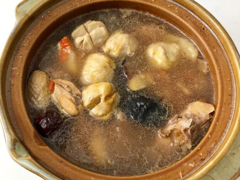 全聯食譜之爸爸回家做晚飯 - 山藥燉雞湯