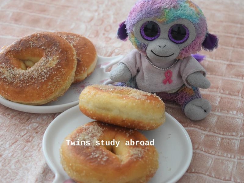芋香鮮奶麻糬甜甜圈