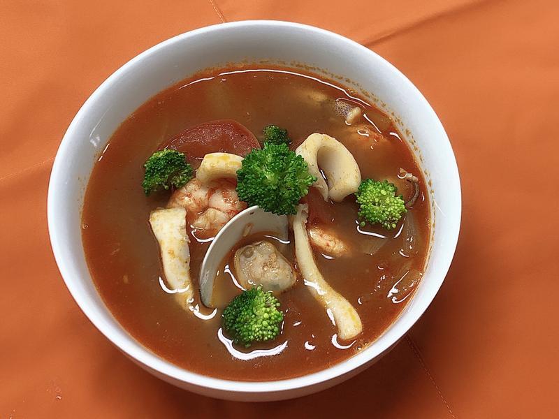 普羅旺斯茄汁海鮮湯~法式