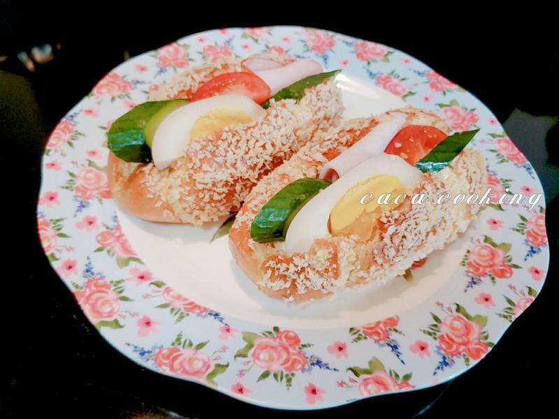 營養三明治(非油炸版)