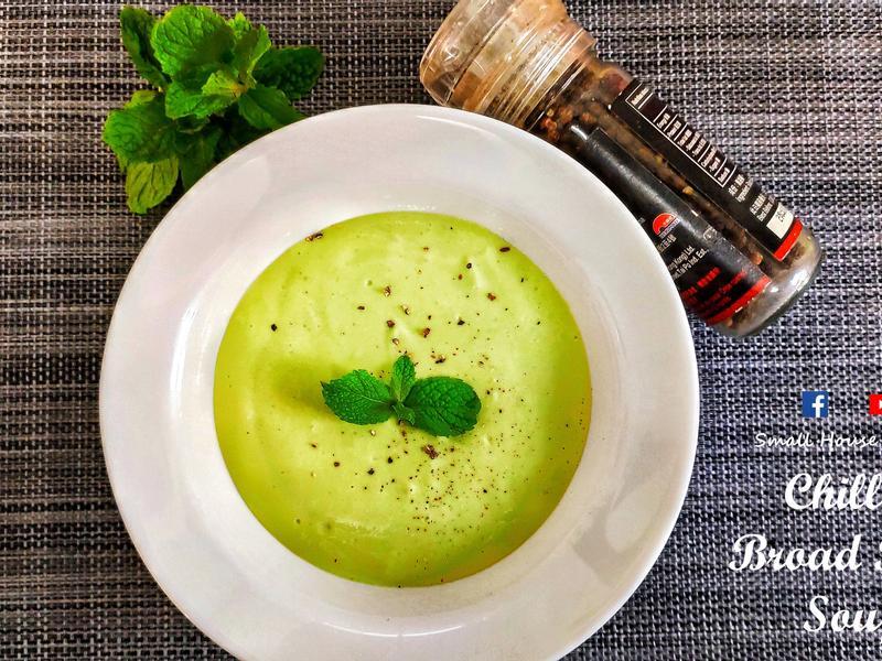 簡易西湯篇|純素蠶豆凍湯(附影片)