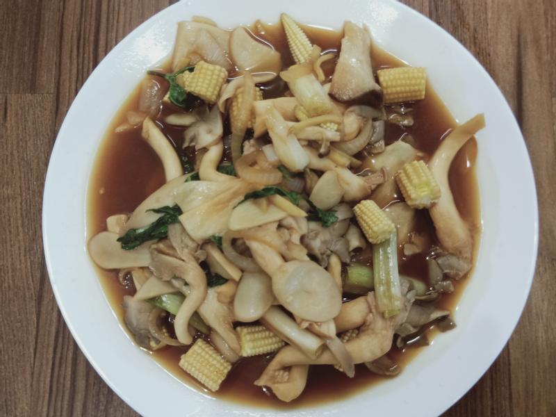 三杯菇菇玉米筍