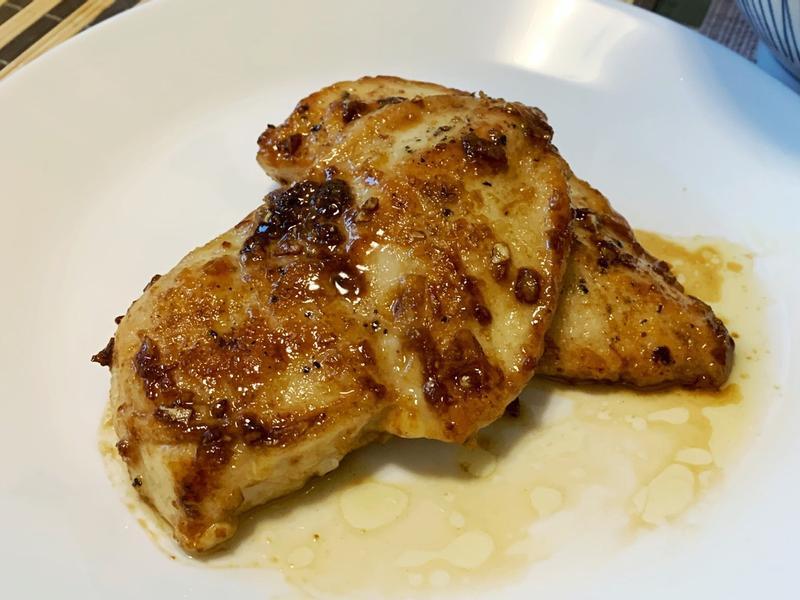 蜂蜜奶油蒜味雞排