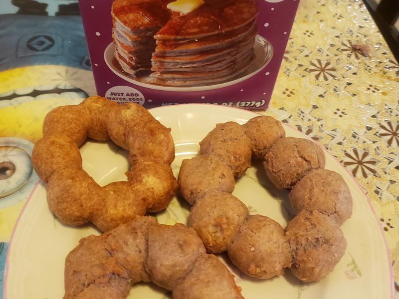 紫薯波提mochi donuts