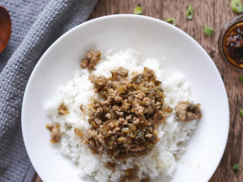 台灣味瓜仔肉燥飯