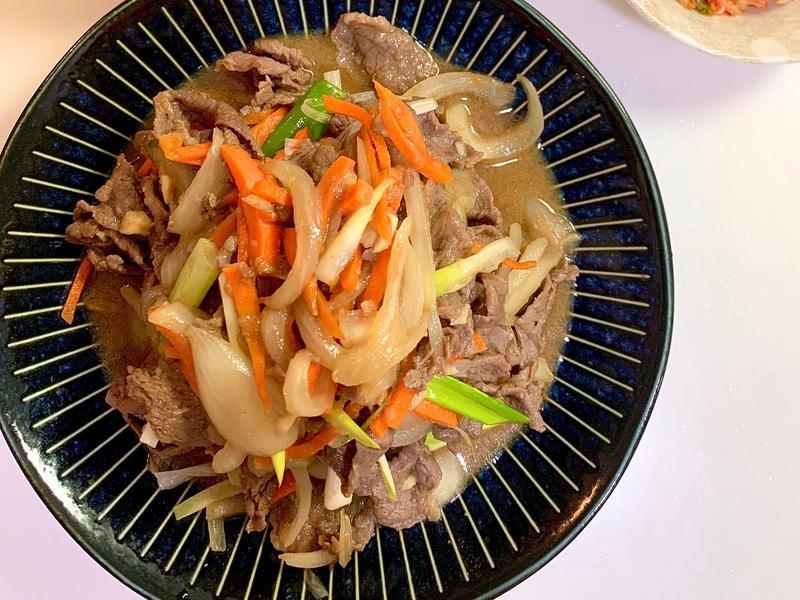 韓式牛肉~~很下飯呦!