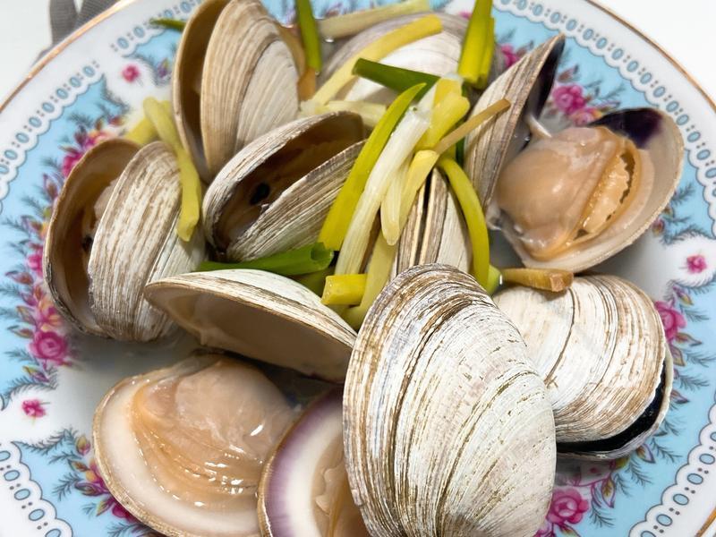 《免調味》超簡單的「清蒸奶油貝」