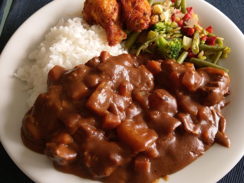 佛蒙特牛肉咖喱