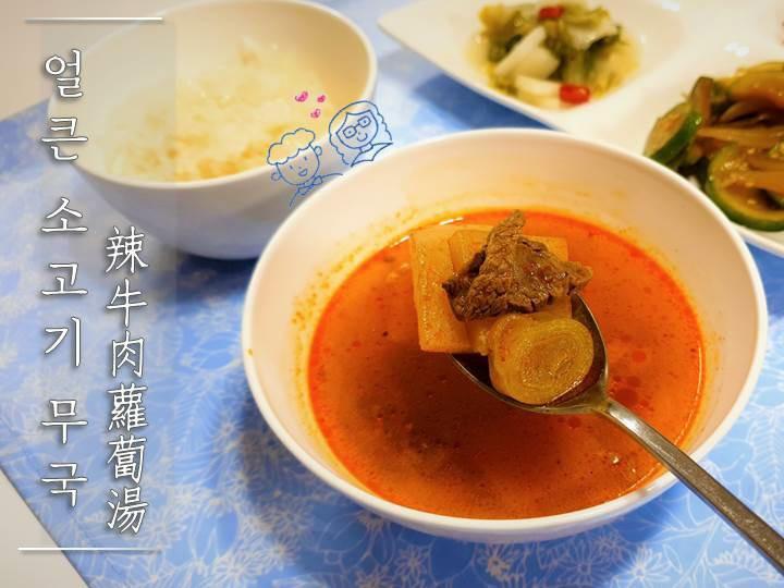 韓國辣牛肉蘿蔔湯