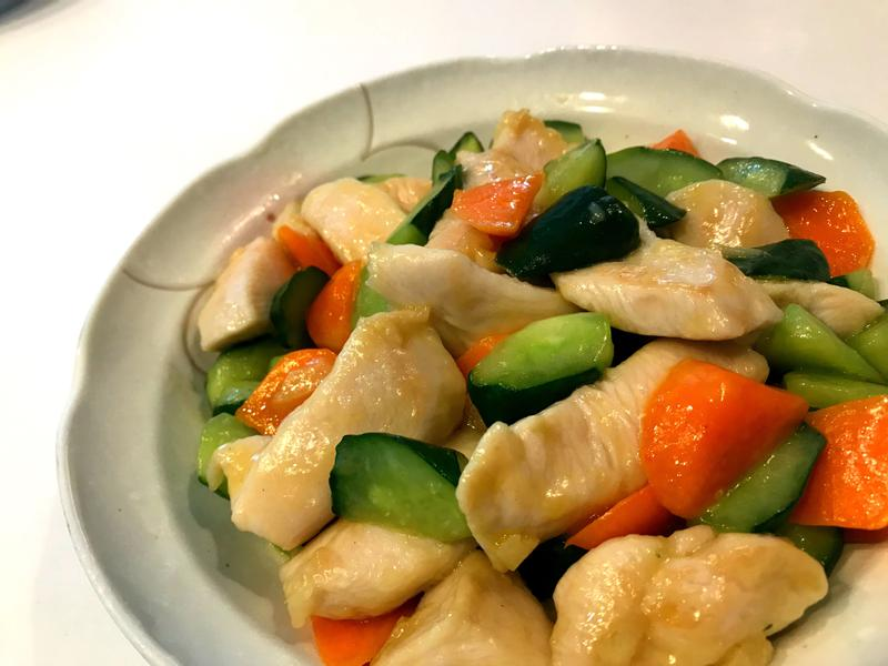 清炒黃瓜🥒雞丁