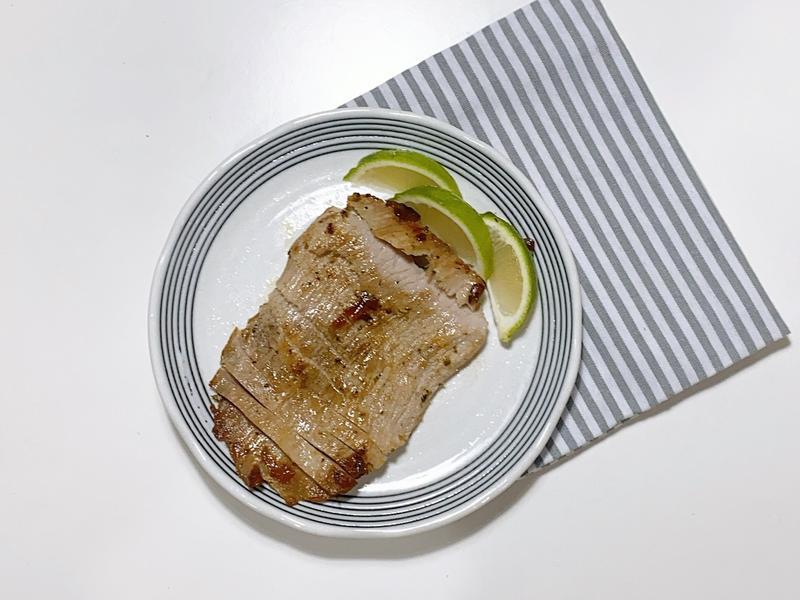 [簡單料理]義式香煎松阪豬