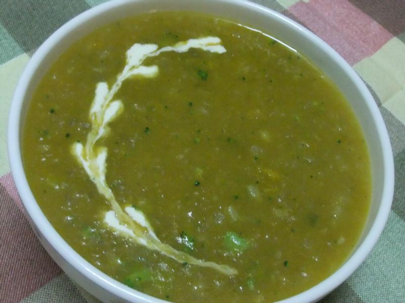 『穀盛綠咖哩』綠花椰咖哩濃湯