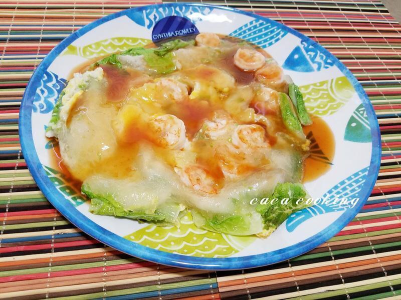 蝦仁煎+醬料