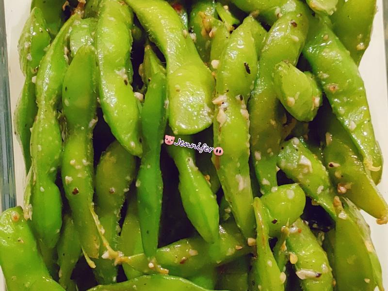 蒜香黑胡椒毛豆