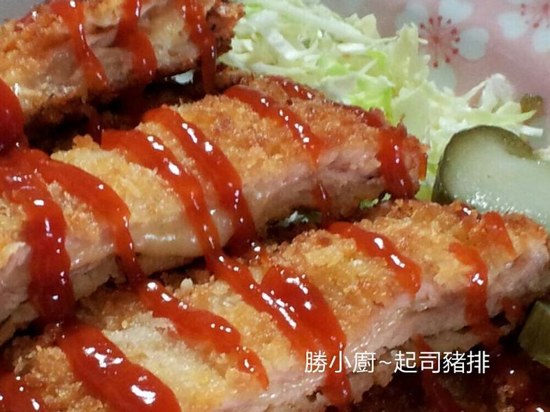 【黃金玄米油Home炸料理】起司豬排