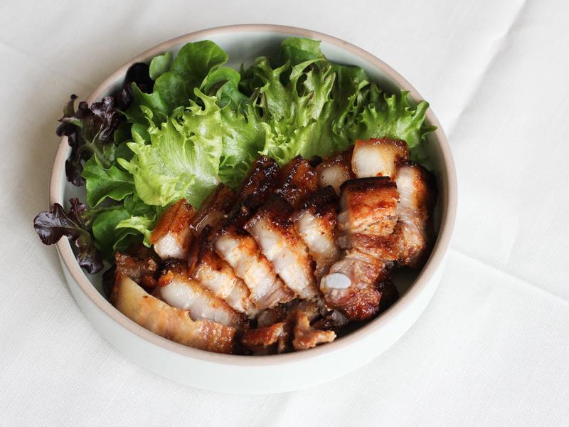 味噌風味烤豬五花肉