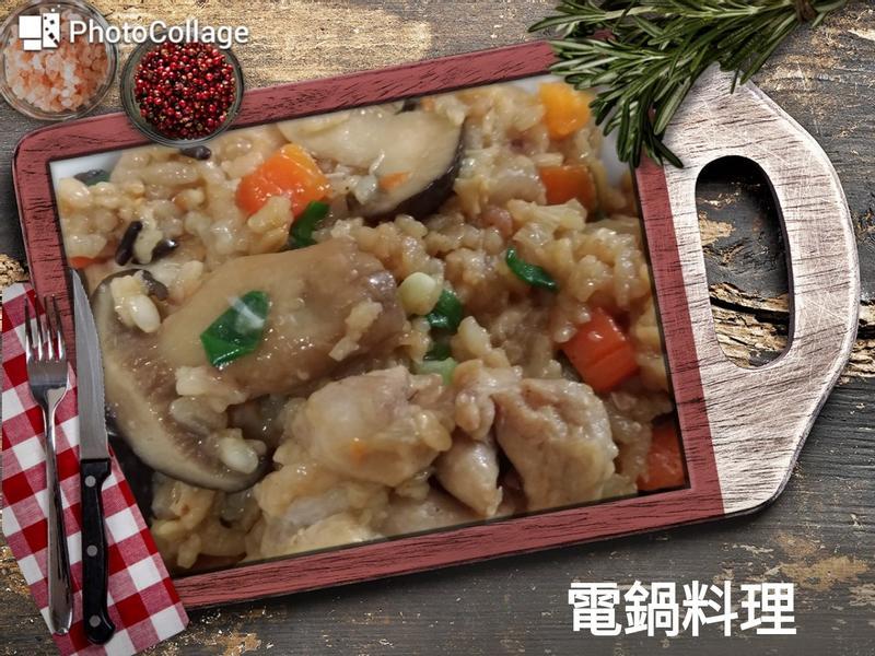 松本茸雞肉炊飯