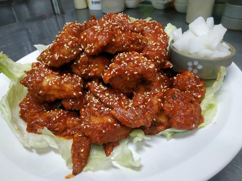 韓式炸雞-醃蘿蔔
