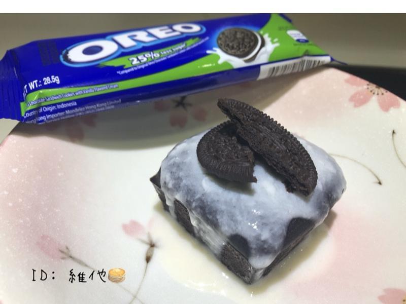 Oreo方塊蛋糕 [無麵粉/油/糖]