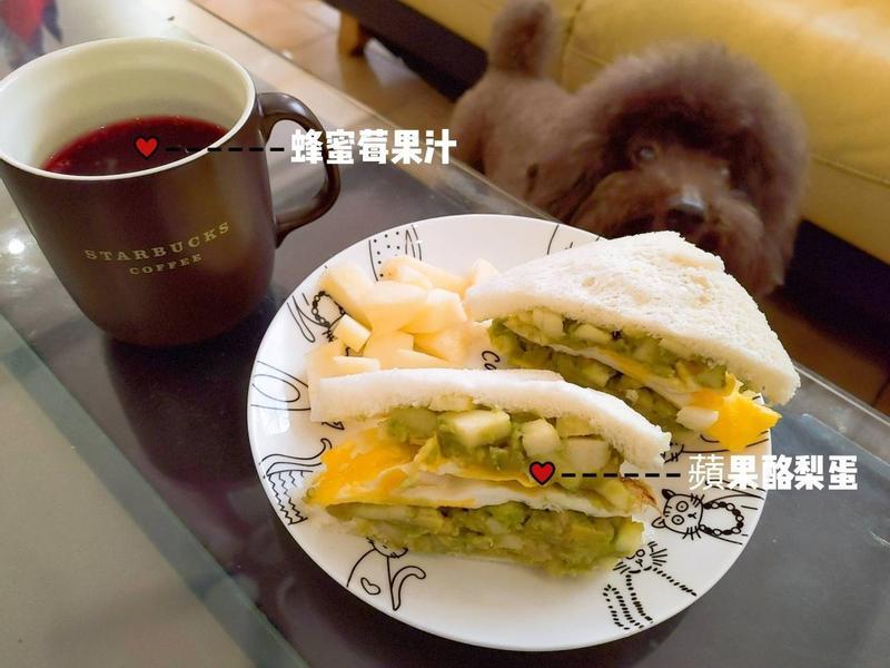 【新手升級版】 酪梨蘋果早午餐 II