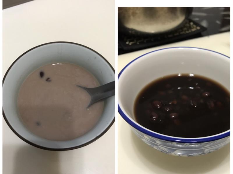 黑糖紅豆紫米湯(電鍋免顧火)