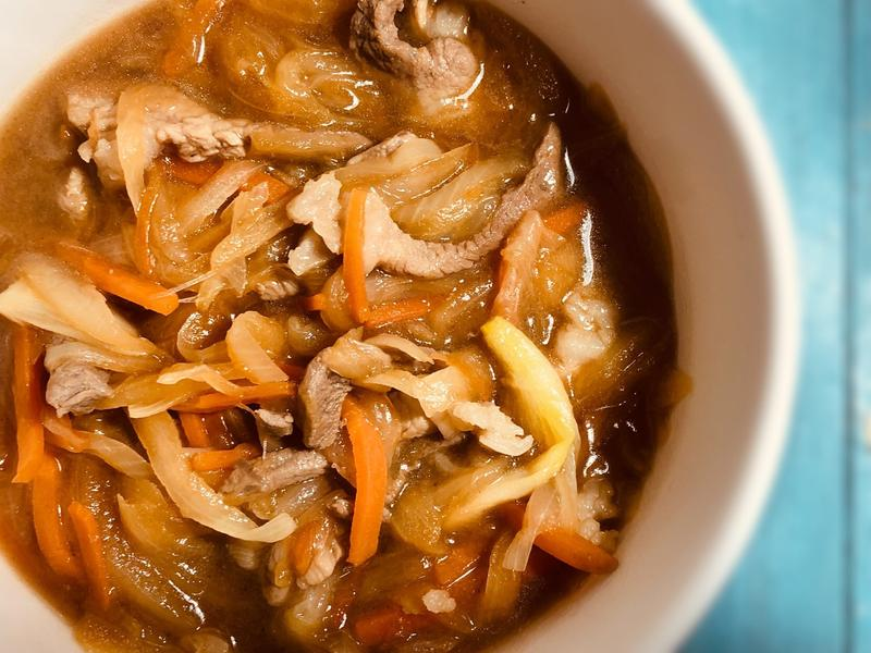 五分鐘日式洋蔥燒肉
