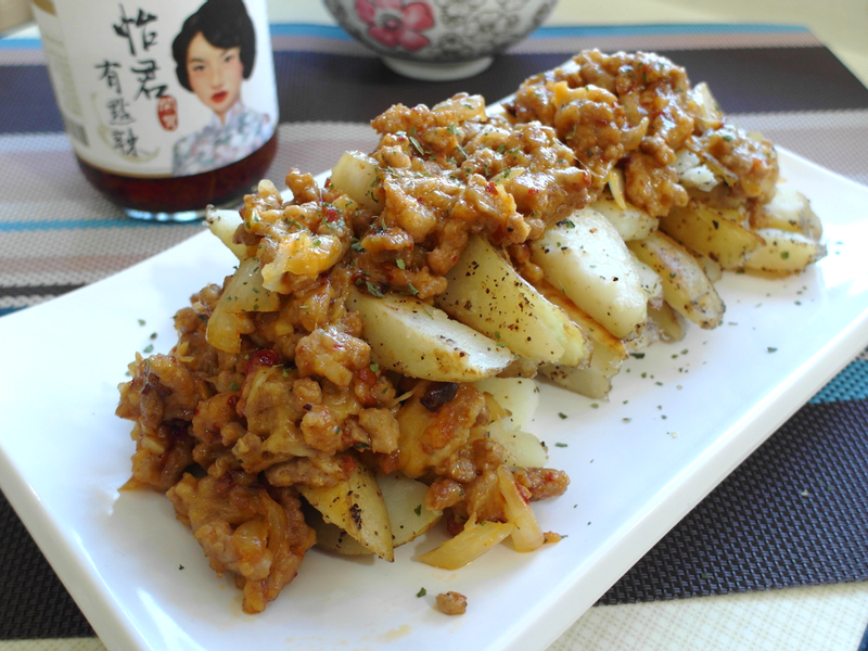 【家常菜】起司辣肉醬馬鈴薯